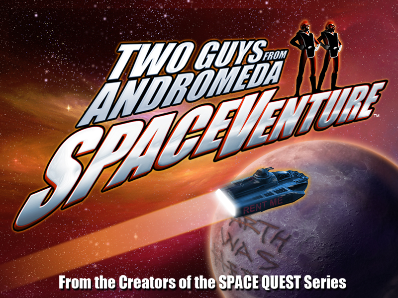 Two Guys SpaceVenture - by the creators of Space Quest, picture.