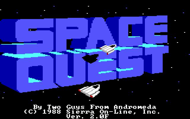 SQ2 Title Screen