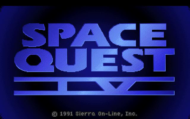 SQ4 Title Screen