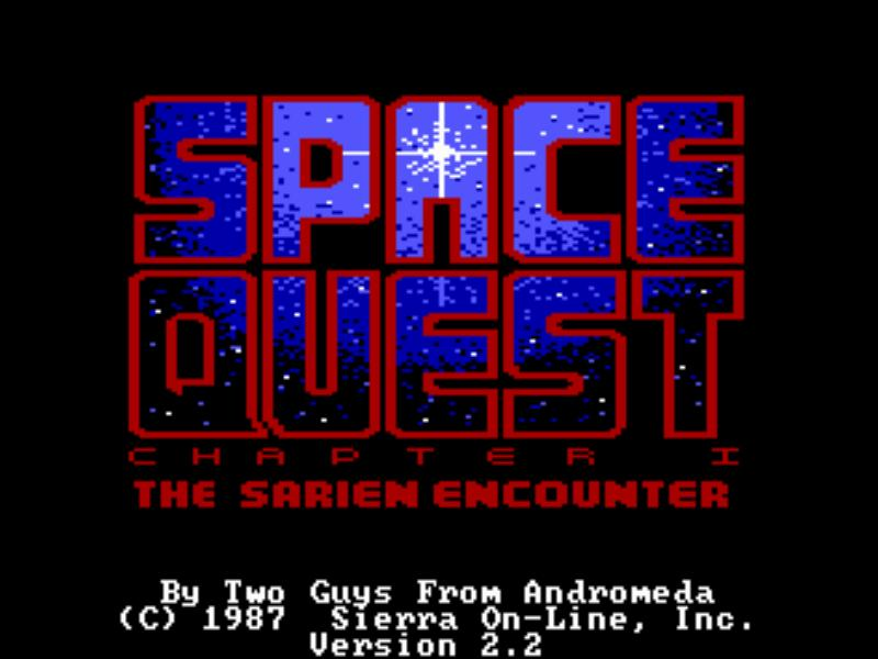 SQ1 Title Screen