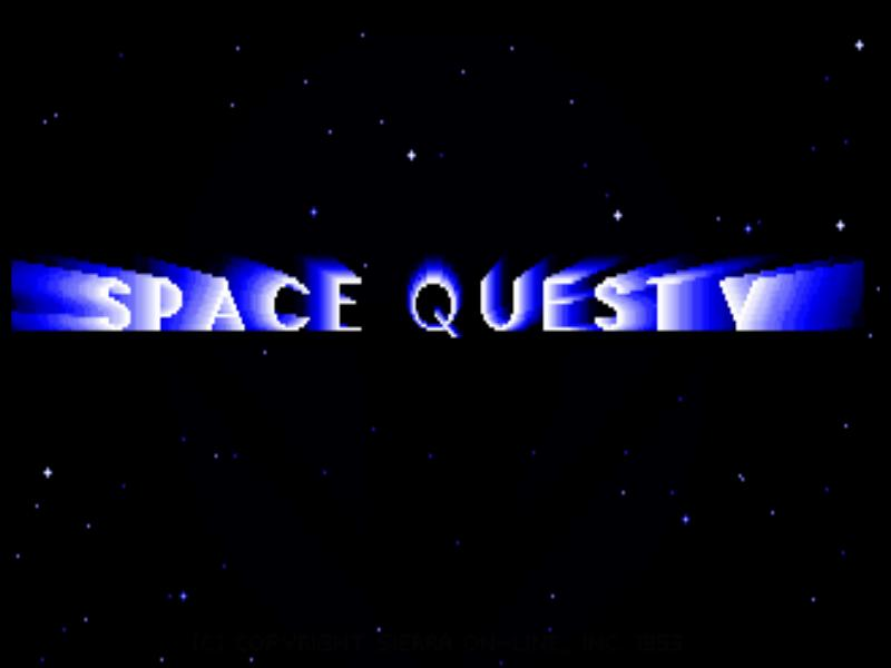 SQ5 Title Screen